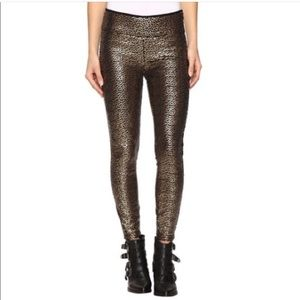 Amuse Society Gold Dust Sequin Pants